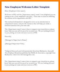Fiu Resume 6 Introduction Letter For New Employee Emt Resume