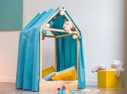 comment faire une cabane dans une chambre comment bien aménager une chambre d enfant femme actuelle