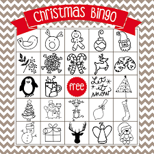printable christmas bingo cards pictures printable christmas bingo game in english and spanish the girl