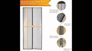 Jml Door Curtain by Magnetic Screen Door Bestope Heavy Duty Full Frame Velcro Mesh