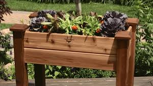 wood container vegetable garden a fresh sensation container