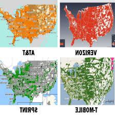 Verizon Coverage Maps Cellular Mapscom Prepaid Wireless Coverage Comparison Who Has The