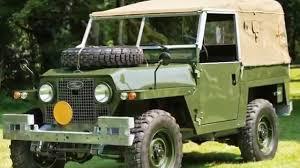 military land rover 1969 land rover series iia u0027air portable u0027 uk military