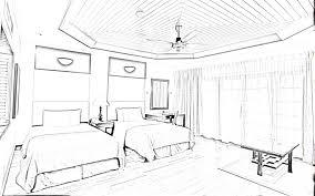 home design drawing sketch a room home design