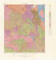 San Diego State Map by Sdag Online Historical Geological Maps San Diego County
