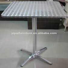 stainless steel folding table square stainless steel foldable dining table designs folding dining