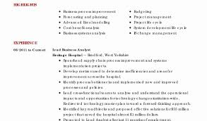 pricing specialist sample resume simple analyst resume example