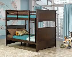 Tyler Full Over Full Bunk Bed Espresso Leons - Leons bunk beds