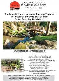 Japanese Garden Layout Lafcadio Hearn Japanese Gardens Tramore Waterfordarts