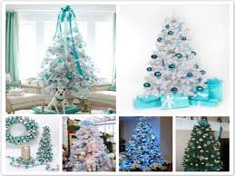 Blue And White Christmas Decorations Ideas by Awesome White And Blue Christmas Decorations Sets Decorating