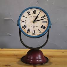 antique retro home decoration desk clock personalized searchlight