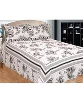 Black And White Toile Bedding Toile Bedding Sets Bhg Com Shop
