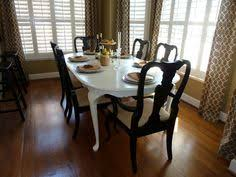 queen anne dining room furniture painted queen anne dining room table and chairs furniture