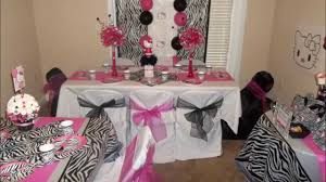 hello centerpieces hello zebra party