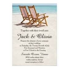 wedding invites chairs destination wedding invitation zazzle