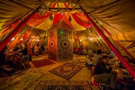 moroccan tent winter rooftop the moroccan medina of hoxton
