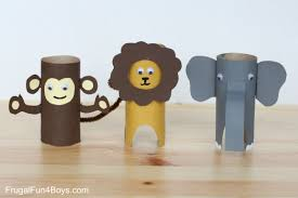 Halloween Crafts Using Toilet Paper Rolls roll animals