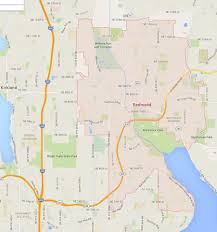Renton Washington Map by Redmond Washington Map