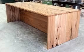 Modern Wooden Desks Australian Timber Modern Desk Furniture Pinterest