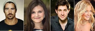Emily Giffin Something Blue Colin Farrell In Talks To Join Ginnifer Goodwin John Krasinski
