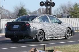 2017 subaru impreza sedan 2017 subaru impreza sedan prototype spotted testing