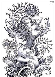 back tattoo making ivy tattoo symbolism