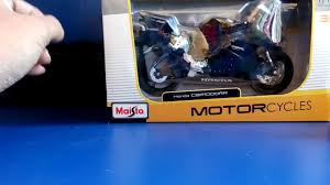 models of cbr unboxing of maisto honda cbr 1000rr bike youtube