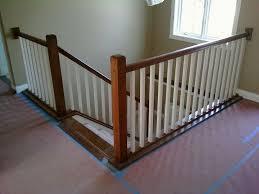 metal stair railing for front step how to diy a wood handrail