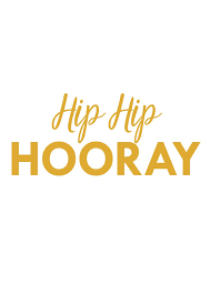 party banner banner hip hip hooray