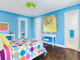 luxury bright blue bedroom in home remodeling ideas with bright