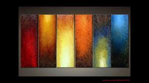 diy art canvas painting ideas for living room youtube