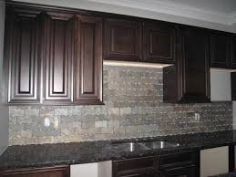kitchen backsplash dark cabinet caruba info
