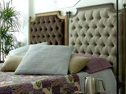 headboard diy headboard using cushions platform bed with
