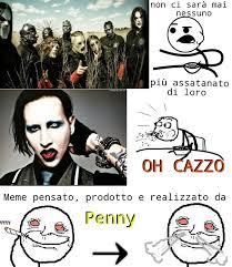 Slipknot Memes - slipknot vs marilyn manson meme by penny memedroid