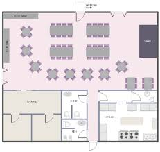 Build A Salon Floor Plan Function Hall Floor Plan Layout Vector Stencils Library