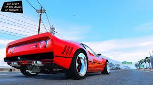 slammed ferrari f40 1984 ferrari 288 gto stance grand theft auto v vi future youtube