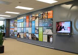 wall display open and flexible display design is made possible by as hanging