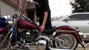 Is Air Ride Suspension Comfortable Platinum Air Suspension Harley Davidson 2001 Youtube