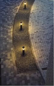 Landscape Bollard Lights Bollard Lighting Creates Soft Pools Of Diffused Lighting To Define