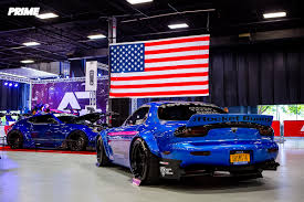 mazda rx7 rocket bunny kit autcon new york 2017 u2013 prime