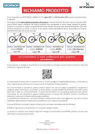 decathlon si e decathlon richiama le bici rockrider 520 e 540 paoblog