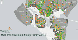 Seattle Districts Map by Seattle U0027s Single Family Neighborhoods Already Include Thousands Of