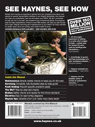 toyota rav4 petrol u0026 diesel 94 jan 06 haynes repair manual