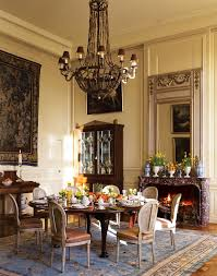 Grand Dining Room Chateau Du Grand Luce Loire Valley Leading Estates Of