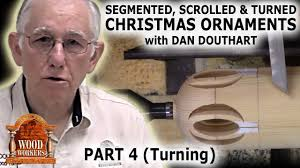 segmented scrolled and turned christmas ornaments part 4 by dan