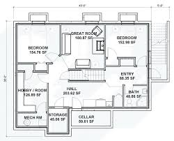 ranch with walkout basement floor plans walkout basement house plans home ranch floor drain plumbing