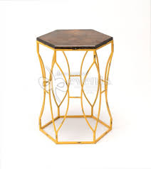 Yellow Side Table Side Table Geometric Yellow Decorative Events U0026 Exhibitions