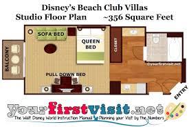 treehouse villas disney world floor plan