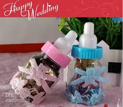 baby shower bottle favors baby shower party favor chocolate box wedding favors baby feeding