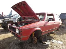 vintage volkswagen rabbit junkyard find 1984 volkswagen rabbit the truth about cars